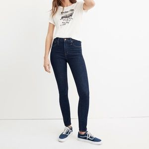 """Madewell 10"""" High-Rise Skinny Jeans, Lucille / 26"""